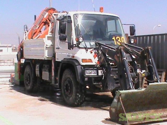 Work Truck Unimog U500 Salvex