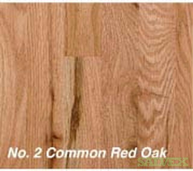 unfinished red oak flooring 075 inch thick x 15 inch wide qty sq ft salvex