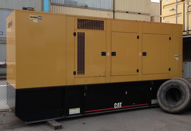 Caterpillar 2002 500 kva Generator Sound Enclosure