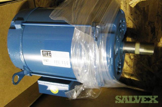 Efficiency motors weg odp three phase nema premium for Weg nema premium motors