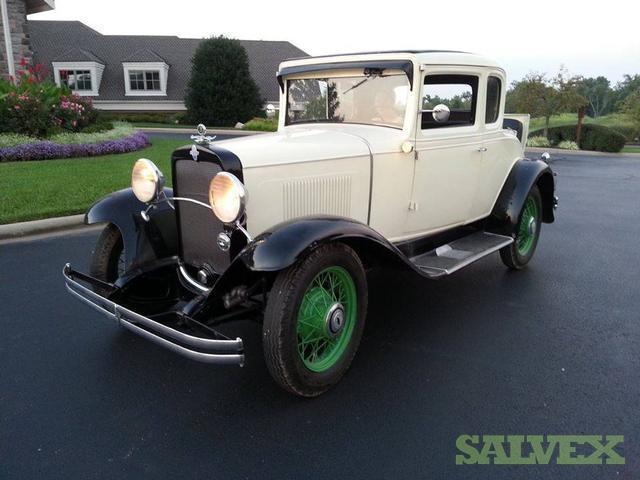 Chevrolet 1931 year 5 window coupe runs well salvex for 1931 chevrolet 5 window coupe