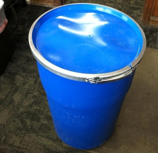 12 Gallon Blue Plastic Barrel HDPE 2 Food Grade 7lbs-135 Available