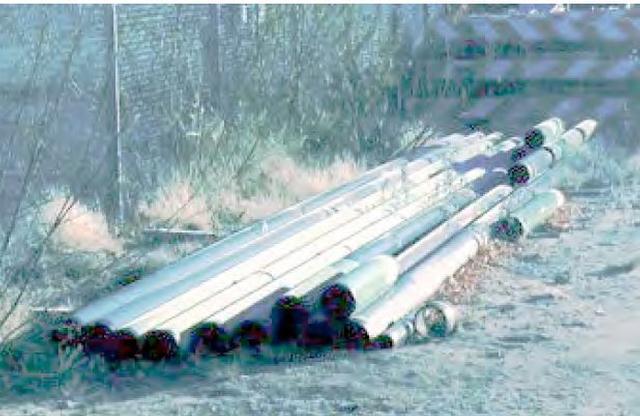 6 5/8 .250WT API 5L X42  Externally Coated ERW Surplus Line Pipe (400 Feet)