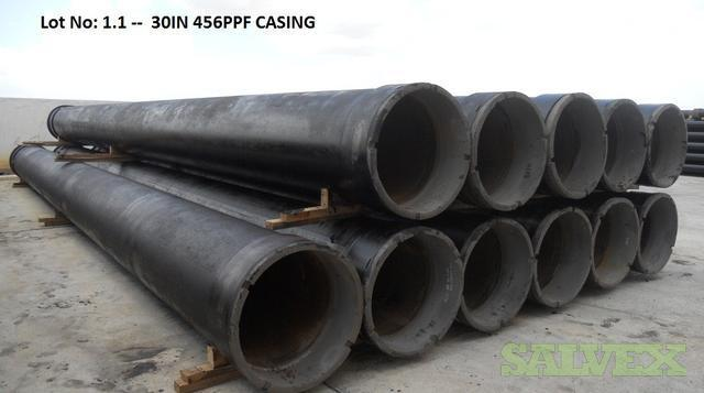13 3/8, 20 and 30 Surplus Pipe