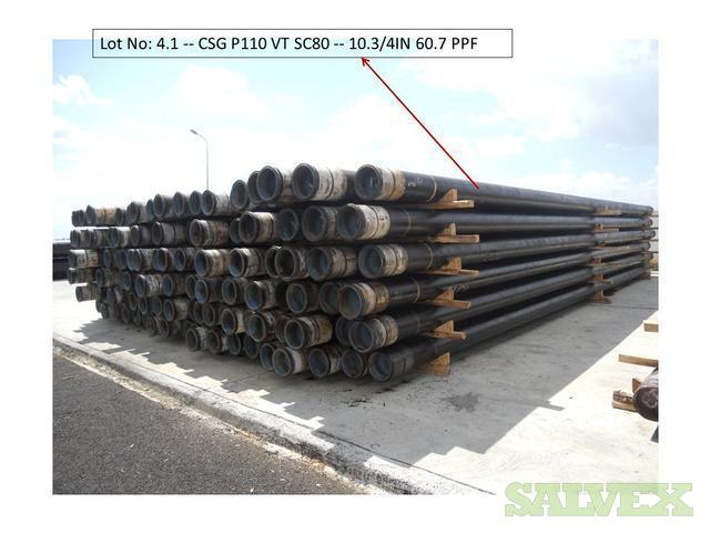 10 3/4 60.7# P110 VAM TOP R3 Surplus Casing (6,561 Feet)