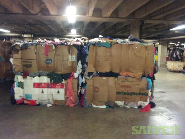 Clothing Pre Owned / Assorted 1000 lb. Bales/Bags