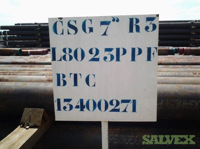 7 23# L80 BTC R3 Surplus Casing (36,680 Feet)