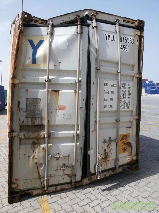 Damaged Shipping Containers Salvex