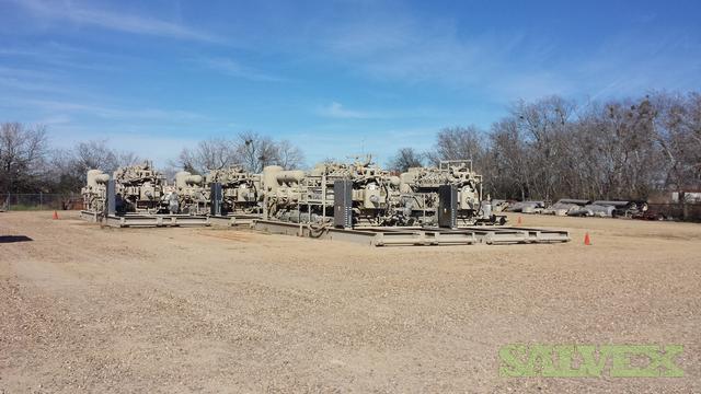 Ariel JGK4 Compressors with Waukesha Gas Engines (7 Units)
