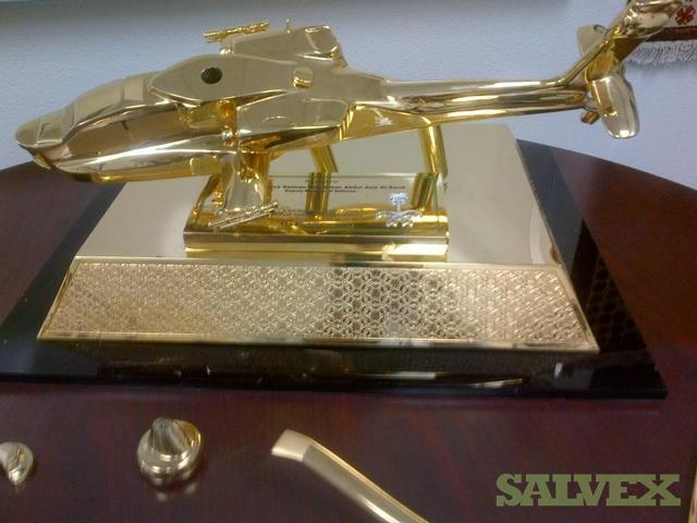 Apache Model (Gold Plated)