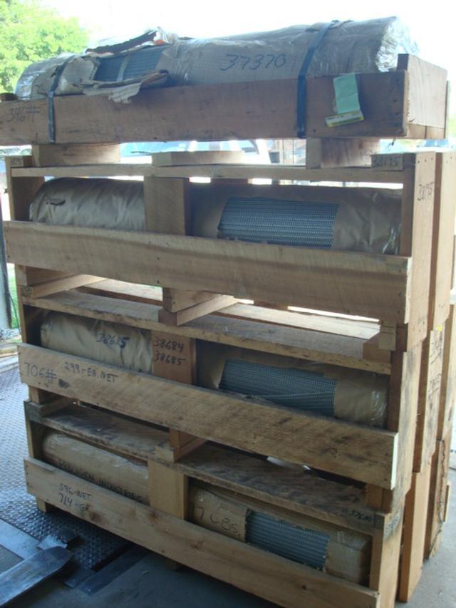 Conveyor Belting for Production Ovens (9 Rolls)