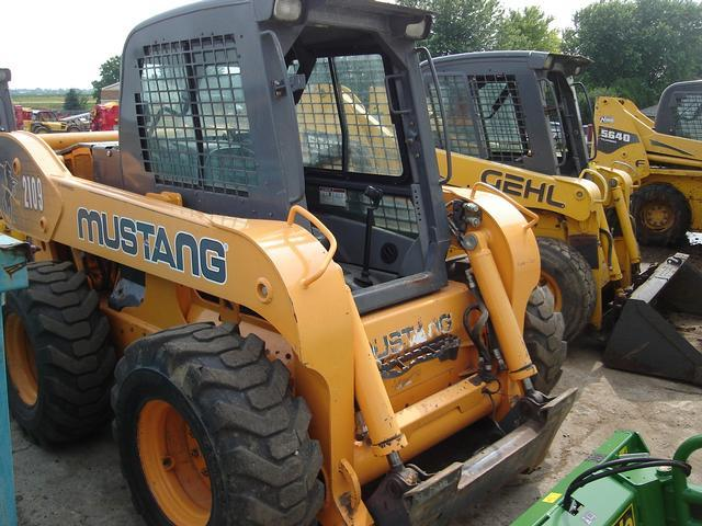 Mustang 2109 Skid Steer Loader (Theft Recovery)   Salvex