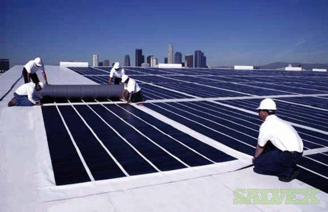 Unisolar Powerbond Flexible Solar Panels Salvex