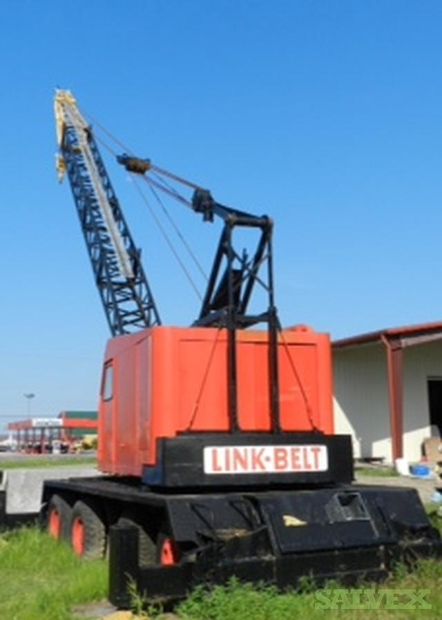 Spare Parts Link Belt Crane : Link belt wagon crane ton salvex