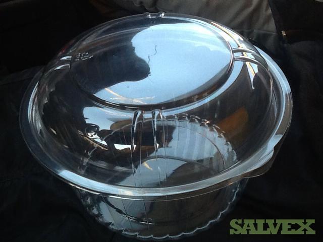 Clear PET Display Bowls w/ Lids (40,000 Units)