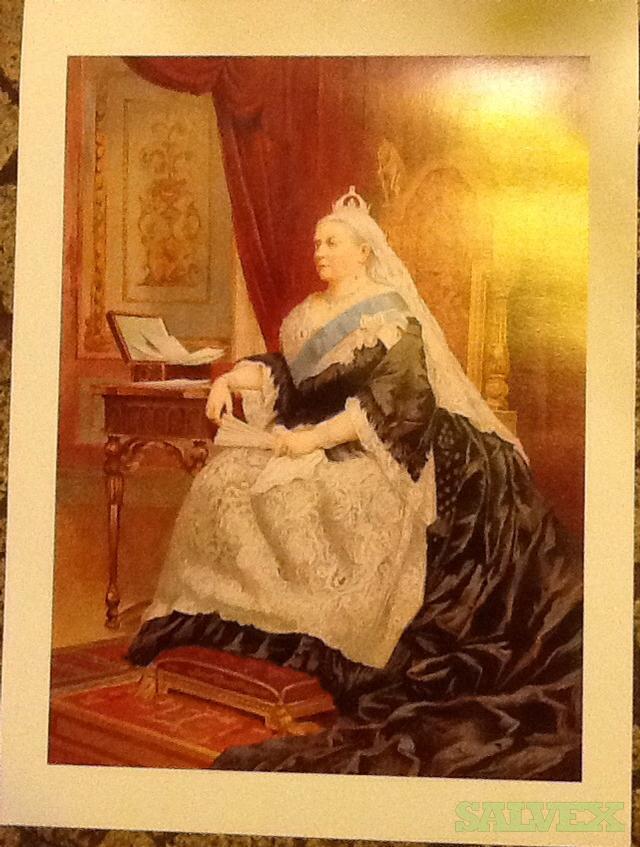 Queen Victoria Prints 11.75 x16 (1,000 Units)