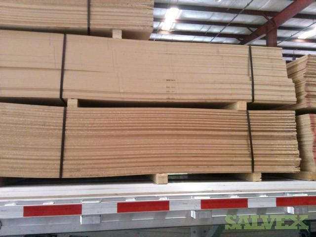 Hdf Wood Fiber Board 528 Sheets 11 3 Mm Salvex