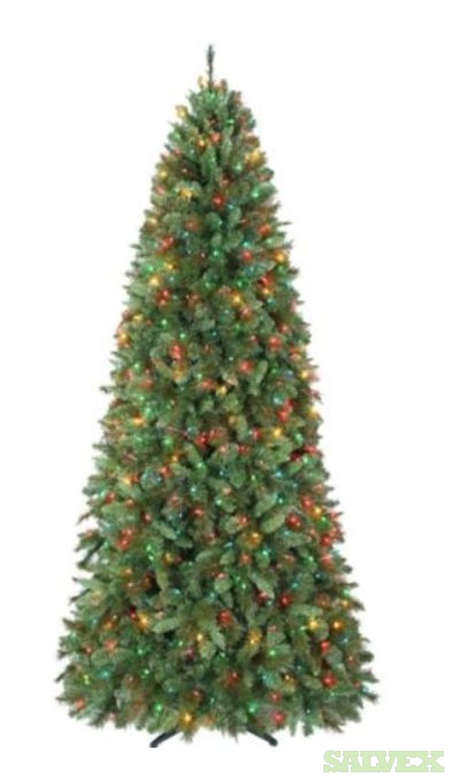 christmas trees pre lit country living brand salvex