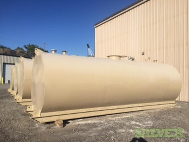Steel Tanks - 9,000 Gallons Each