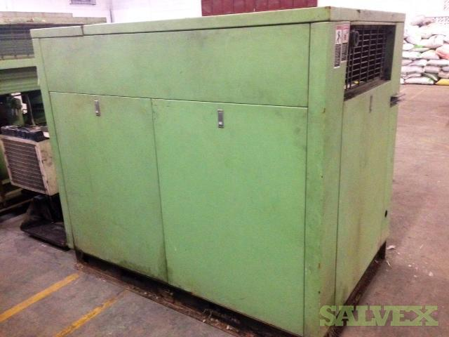 Air Compressor 75 HP SULLAIR with Dry Air Compressor