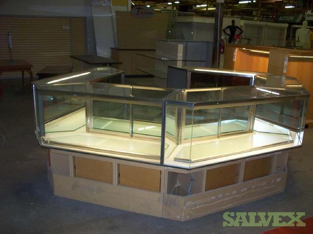 Fixtures, Display Cases, Storage Racks for Retail Stores