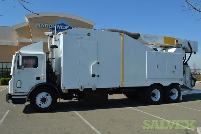 Mack / Rapiscan Mobile Cargo Container / Automobile X-Ray Scan Machine