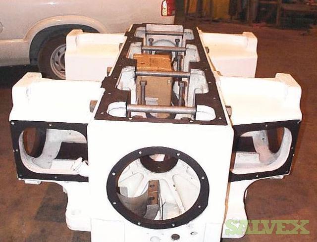 Dresser Rand  HOS-4 Compressor Frames Come in 2,4, and 6 Throw