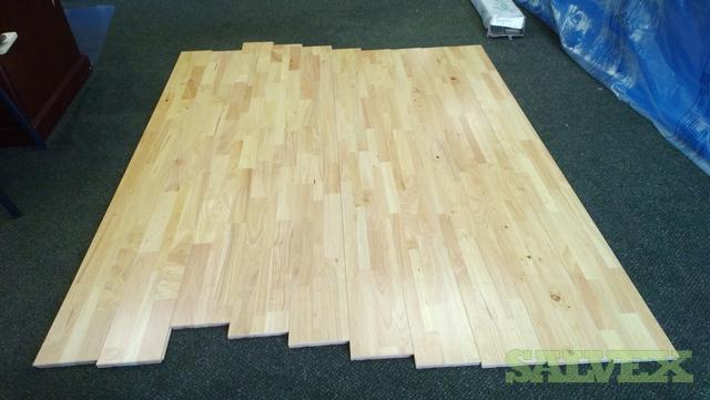 - Solid Hevea Rubberwood FJL Flooring Salvex