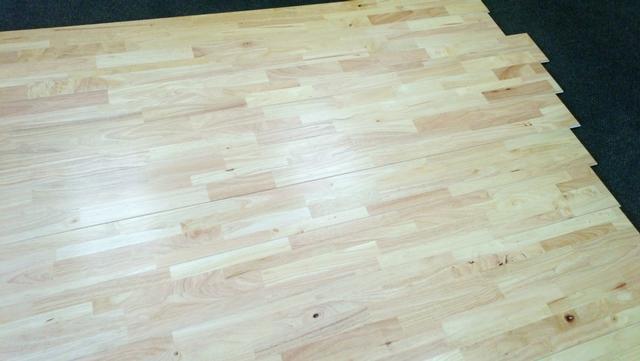 Solid Hevea Rubberwood Fjl Flooring Salvex