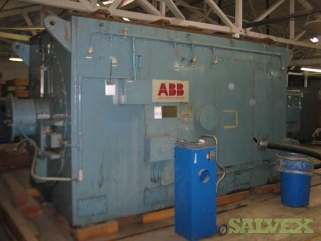 Complete 25.5MW ABB Steam Turbine Generator Plant (No Boiler)