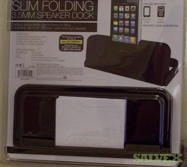 Slim Folding Speaker Dock (2,400 Units)