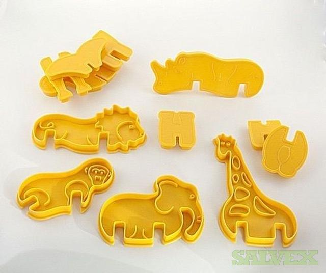 Cookie Cutter Sets  3D - Zoo Animals - 1500 Sets