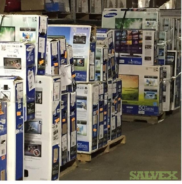"""Late Model LED Salvage TVs 19"""" To 80"""" Samsung"""