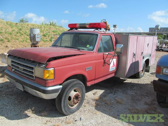 1990 Ford F-450 Fire Truck