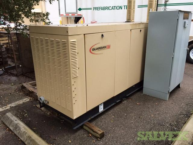 2007 Generator Guardian 100kw Comes with the Transfer Switch
