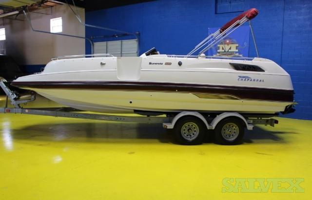 Deck Boat 95 Chaparral Sunesta 220 Lake Ready Salvex