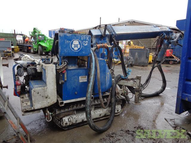 Meyco Shotcrete Sprayers Salvex