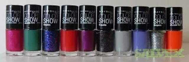Assorted Maybelline Nail Polish (10,000 Pieces)