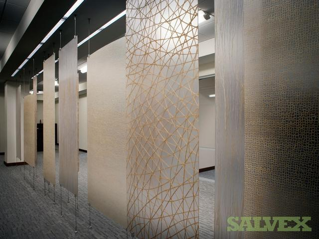 3 Form Suspended Partition Panel Varia Ecoresin Artisan