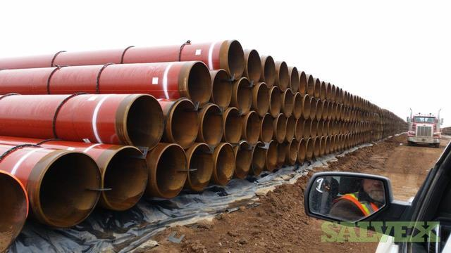 30 X70 FBE PSL 2, Europipe and Berg Steel Surplus Line Pipe (367,360 Feet)