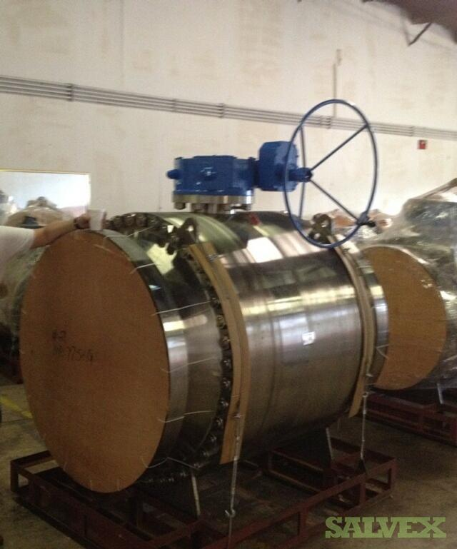 FR Valve Stainless Steel Trunnion Ball Valves 30'' and 36 (2 Units)