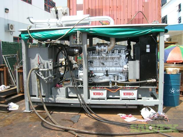 Mitsubishi 6D22T Engine Driven Power Pack - Skid Mounted (6 Ton)