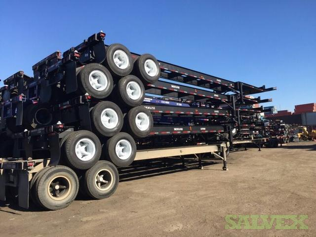 Container Chassis - 40' - Reconditioned (Qty 17)