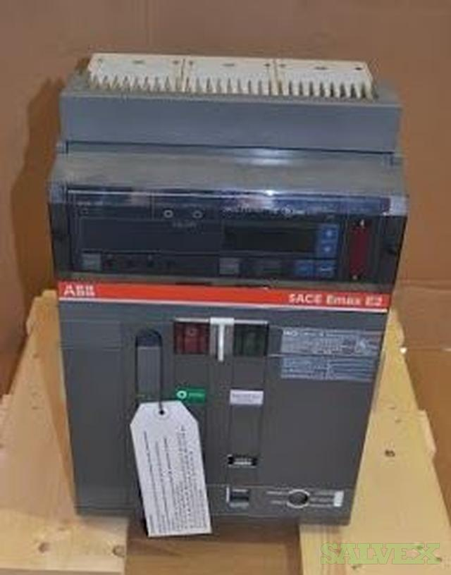 ABB Power 1600A Circuit Breaker, SACE EMAX 2 E2N-A16 (5 Units)