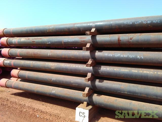 9 5/8 40# N80 BTC R3 Surplus Casing (94,200 Feet)