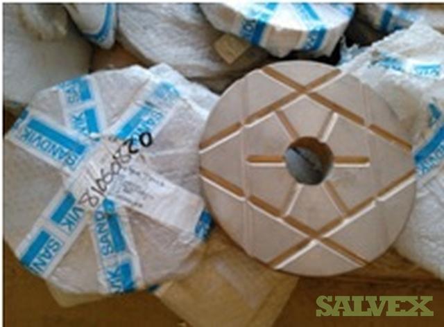 Sandvik and Tamrock Miscellaneous Mining Parts: Compressors, Pistons, Valve Blocks , Bearings (814 Units)