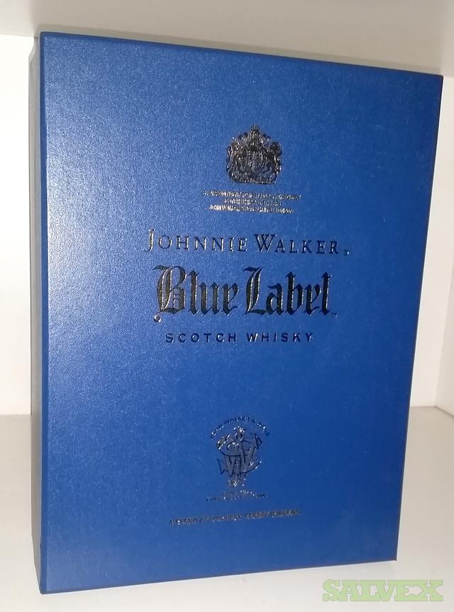 It is a picture of Gutsy Johnnie Walker Blue Label Case