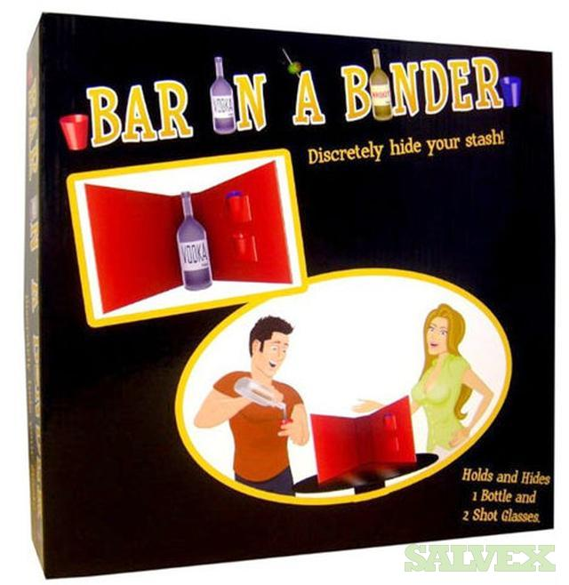 Bar In A Binder - Novelty Items (480 Units)