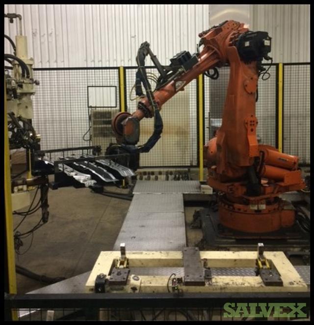 Dengensha Nut Weld Process Robot