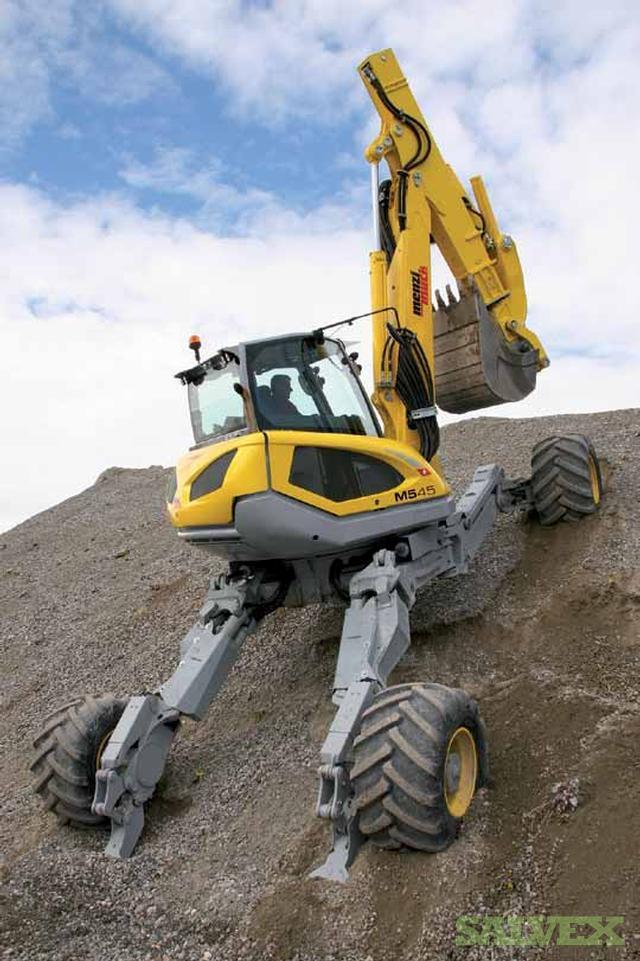 Surplus Army Vehicles For Sale >> Menzi M45 Large Spider Excavator (950 Hours) | Salvex